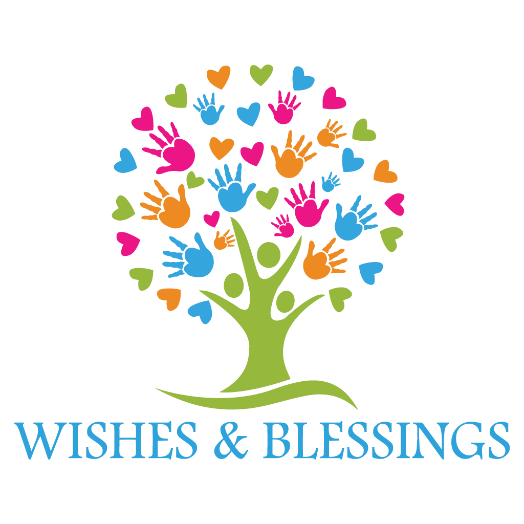 Wishes & Blessings Vector